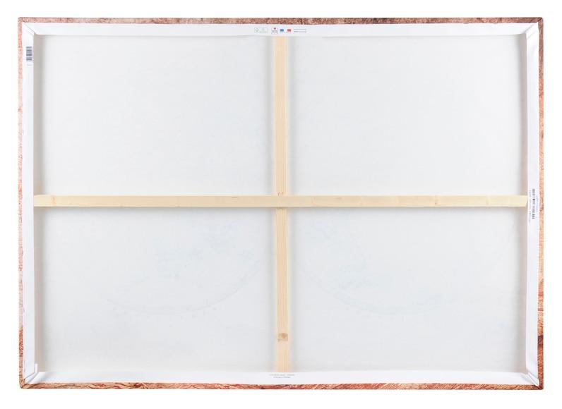 Canva de 140 x 100 cm chic mapamundi ref 16796164 leroy merlin - Canvas leroy merlin ...