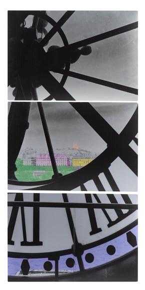 3 canvas de 44 x 64 cm triptico reloj tonos color ref 16861516 leroy merlin - Canvas tuin leroy merlin ...