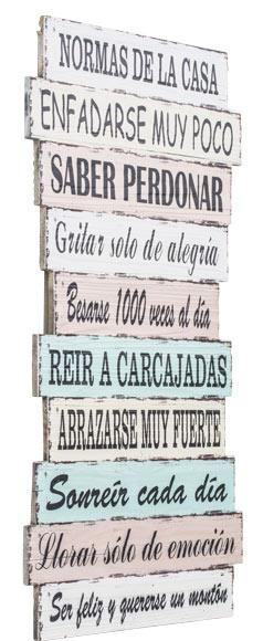 Cuadro madera de 32 x 62 cm normas ref 17925810 leroy - Cuadros y laminas leroy merlin ...