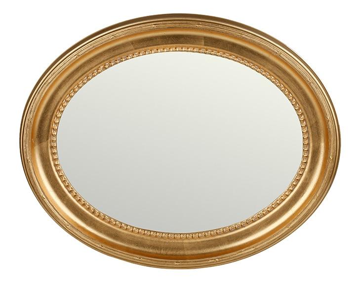 Espejo decorativo oval roma 60x80cm ref 16624020 leroy for Espejos decorativos leroy merlin