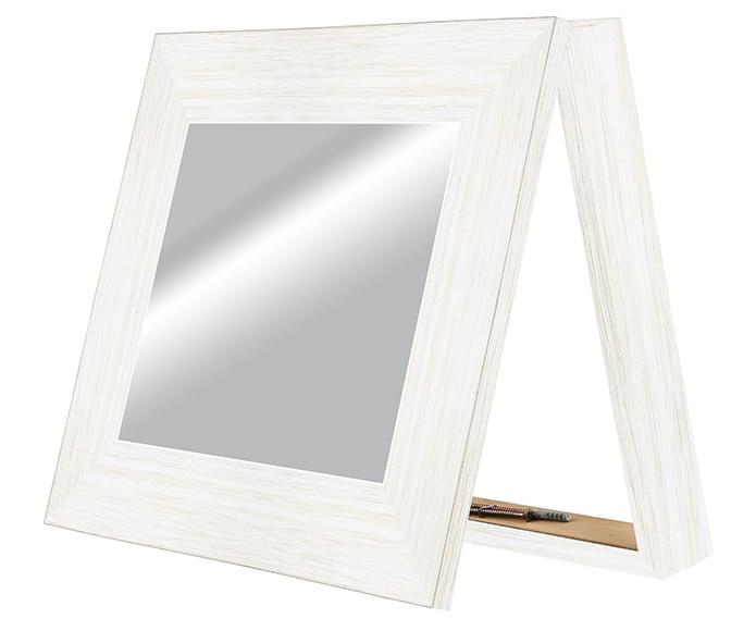 Espejo Decorativo Contador Blanco 36x42cm Ref 16736783 Leroy Merlin