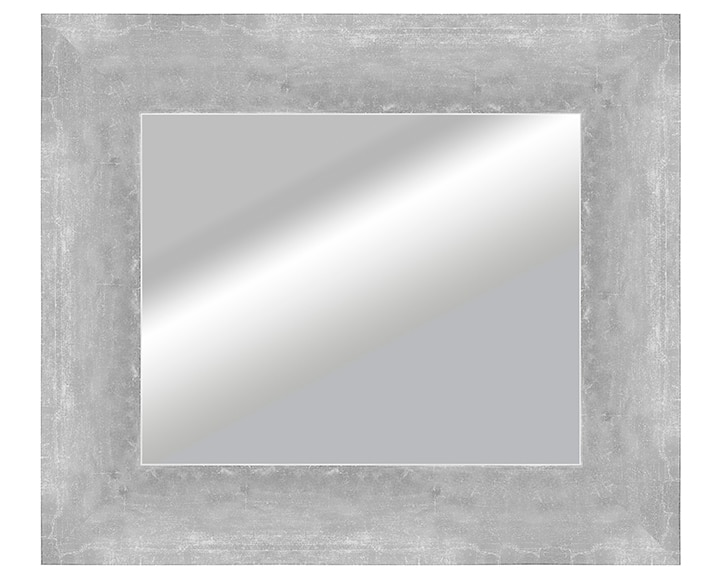 Espejo decorativo contador plata 36x42cm ref 16737014 for Espejos de pared leroy merlin