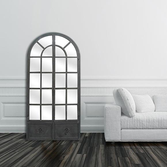 Espejo decorativo baudoin 80x170cm ref 18667404 leroy - Espejos decorativos leroy merlin ...