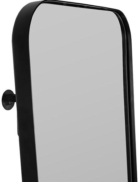 Accesorio soporte inspire uyuni negro ref 19310564 for Miroir uyuni leroy merlin