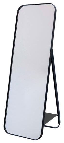 Espejo decorativo uyuni negro 50x70cm ref 19310592 for Miroir uyuni leroy merlin
