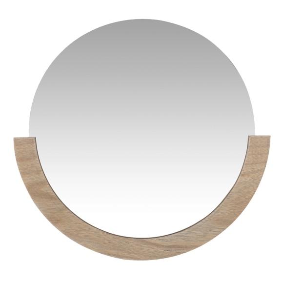 Espejo decorativo media luna 34x34cm ref 19443865 leroy - Espejos decorativos leroy merlin ...