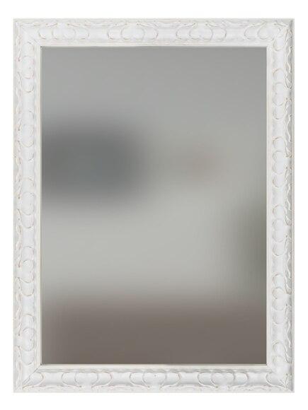 Espejo decorativo lieja blanco plata 50x70cm ref 19450123 for Leroy merlin espejo de pie