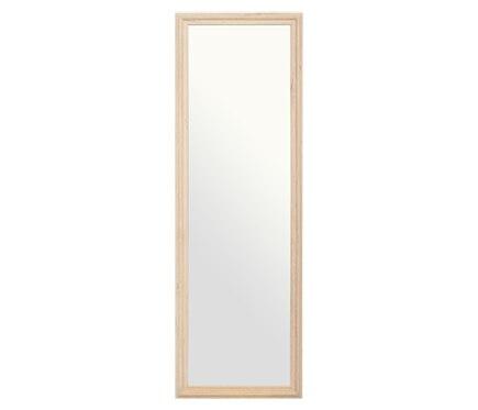 Espejo decorativo madera acabado natural 140x40cm ref - Espejos decorativos leroy merlin ...