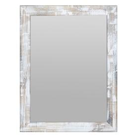 espejo decorativo mold a mano crema xcm