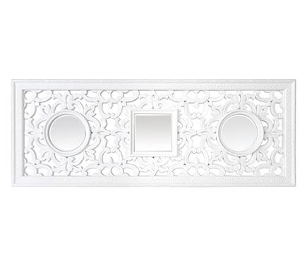 Espejo decorativo bled blanco ref 18667544 leroy merlin for Espejo leroy merlin