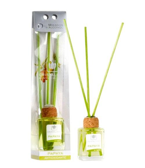 Ambientador para el hogar cristalina papaya ref 15834693 for Ambientador leroy merlin