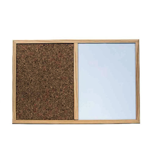 pizarra corcho pintar doble uso 60 x 40 cm ref 14479395