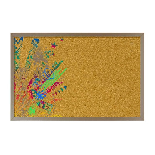 Pizarra corcho 60x40 cm ref 14576786 leroy merlin - Pizarra magnetica leroy merlin ...