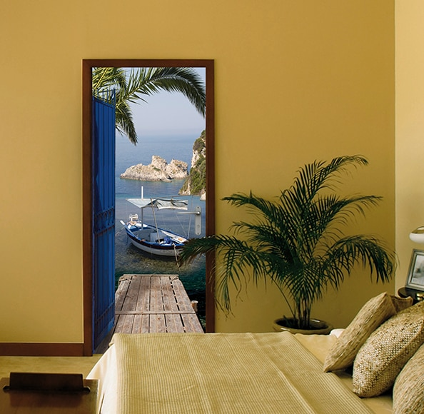 Vinilo para puerta sea view ref 15313893 leroy merlin Vinilos bebe leroy merlin