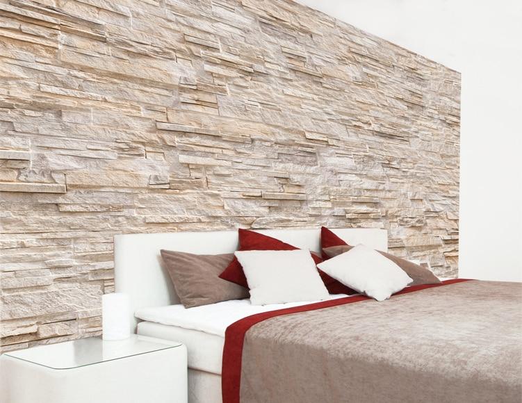 Textil no tejido decorativo piedra bg ref 19129964 - Leroy merlin piedra pared ...