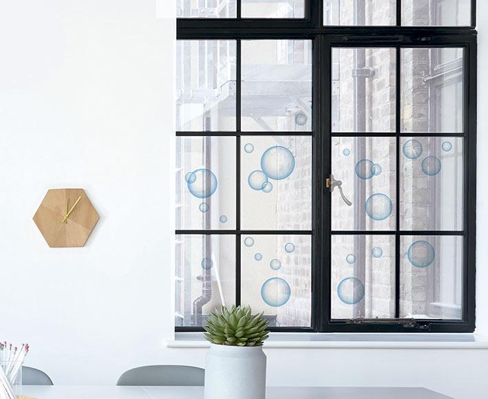 Vinilo para ventana burbujas de jab n ref 81865595 - Cuadros para dormitorios leroy merlin ...