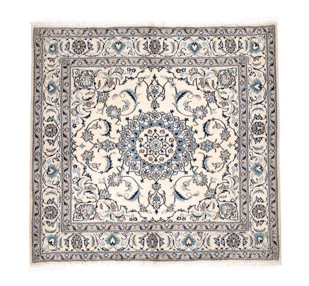 Amigos para siempre artes textiles for Alfombra persa azul