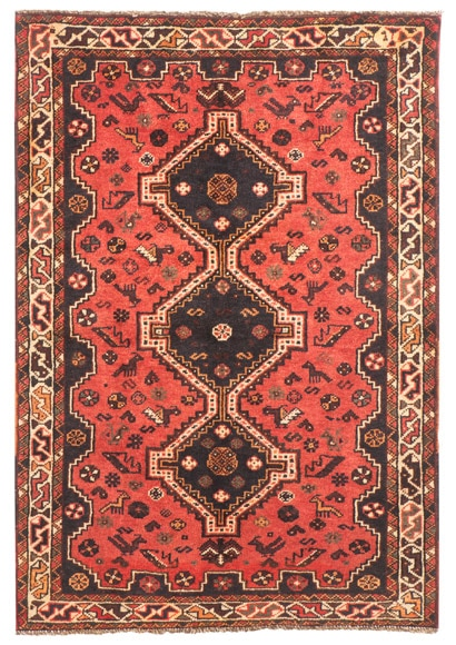 Alfombra persa shiraz 2 alfombra persa shiraz 2 ref for Alfombras persas outlet
