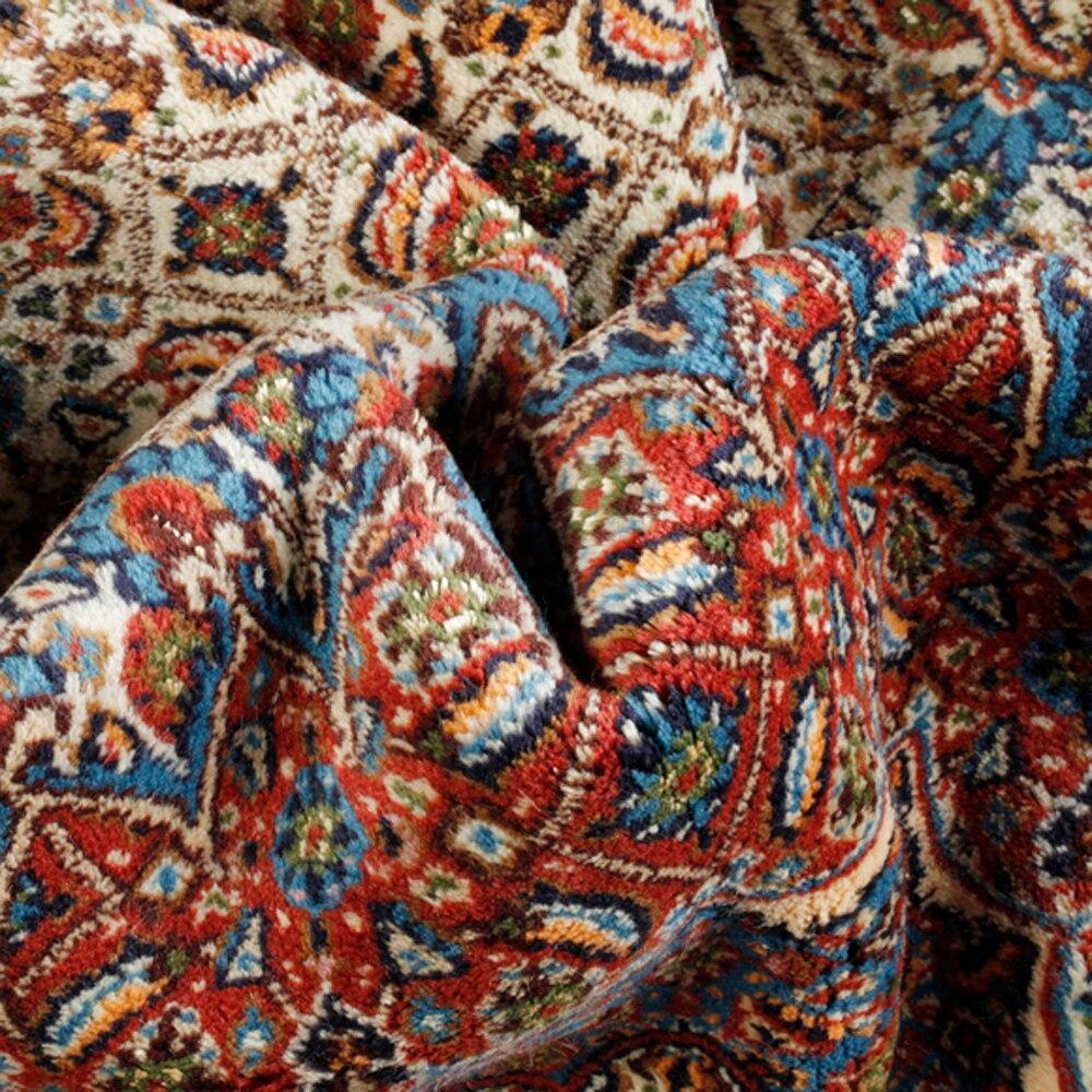 Alfombra lana oriental mud ref 11789456 leroy merlin for Alfombras la oriental