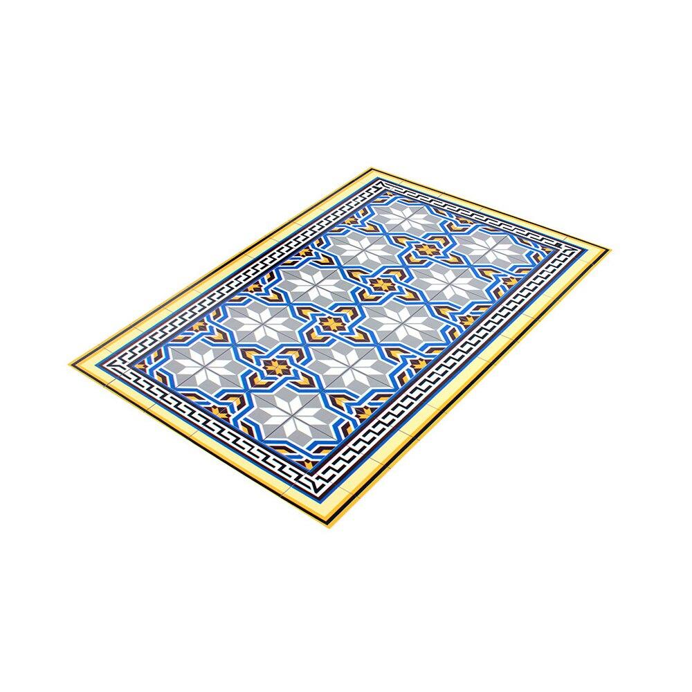 Alfombra vin lica geom trico vinilo mosaico ref 17146535 for Leroy merlin mosaico decorativo