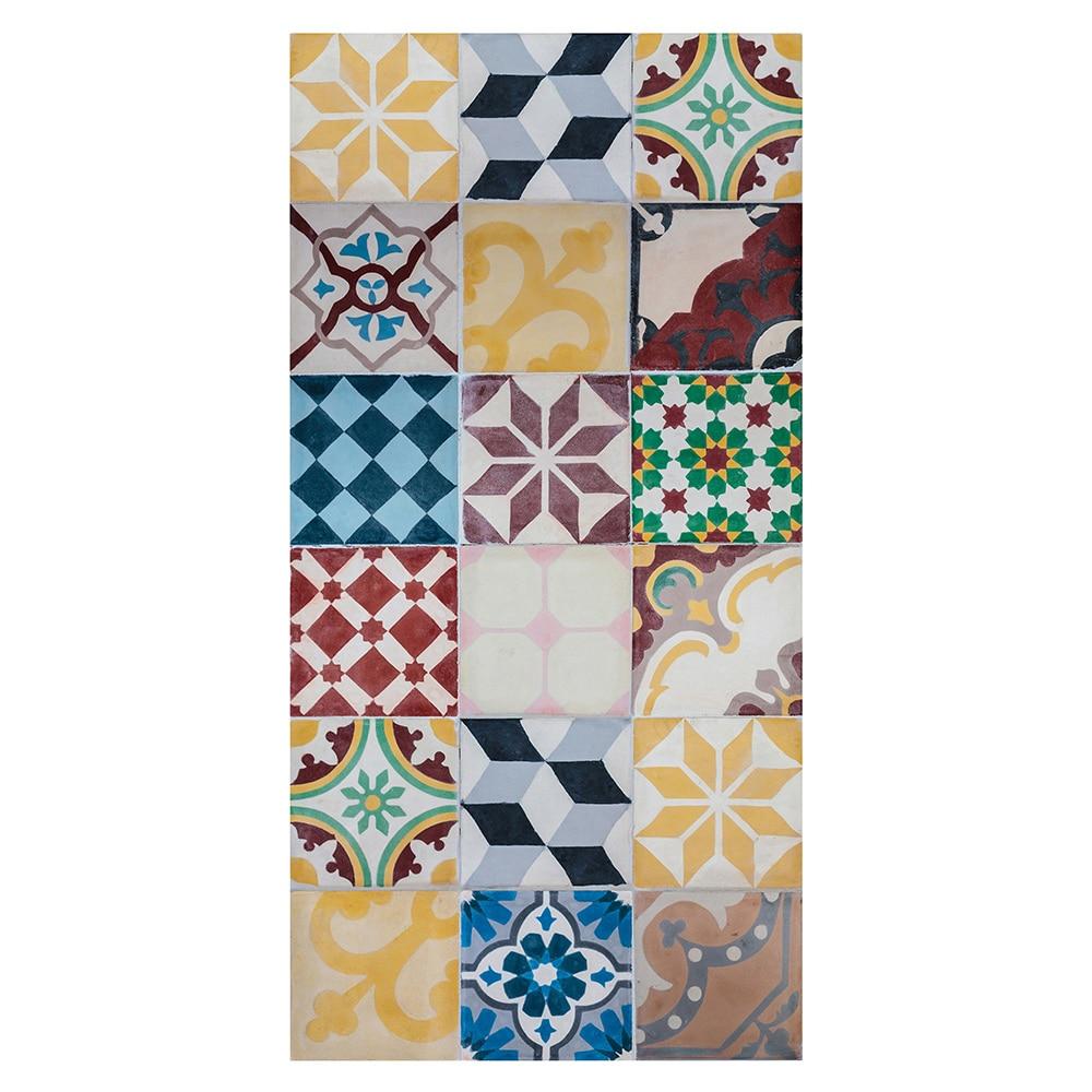 Alfombra vin lica dise o mosaico vintage ref 17487960 - Alfombras de vinilo para cocina ...