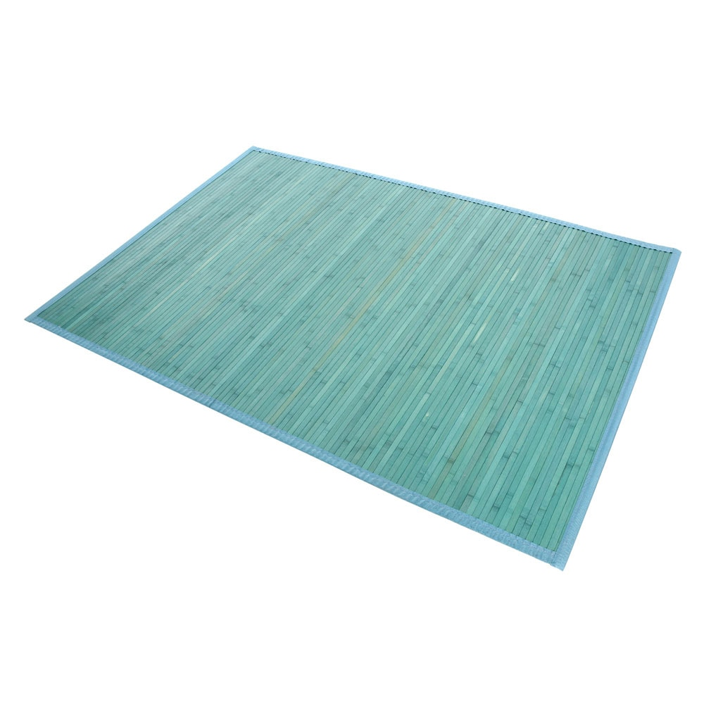 Alfombra bamb natural cant n ref 15644846 leroy merlin - Alfombra verde agua ...