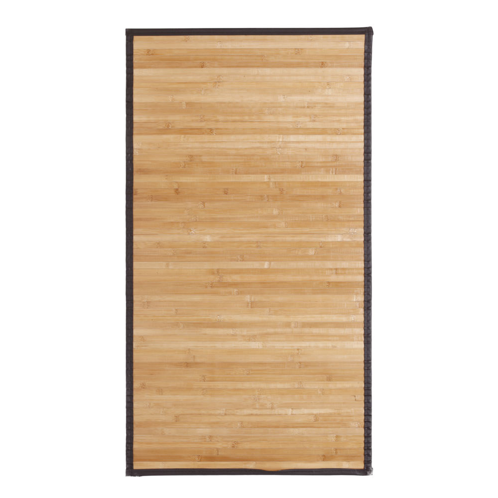 Alfombra bamb natural cenefa polipiel ref 15747732 for Ventiladores de pared leroy merlin