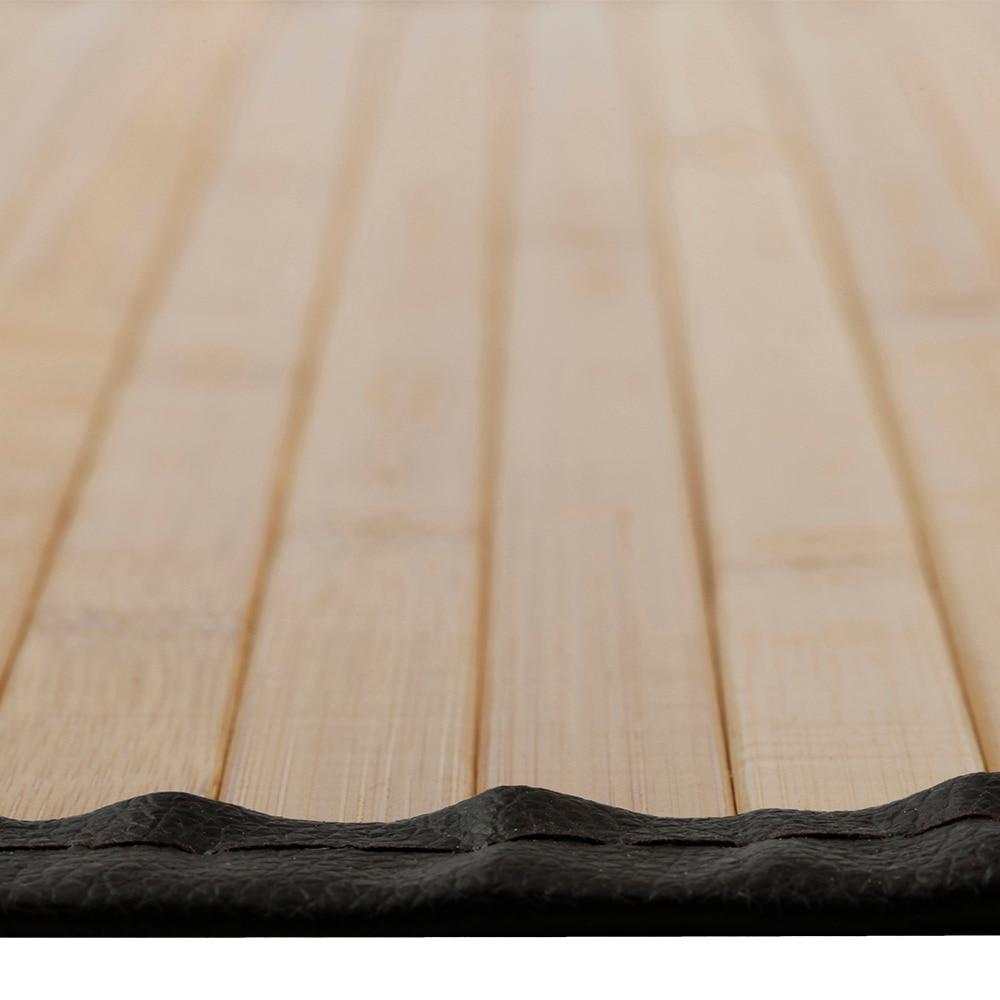 Alfombra bamb natural cenefa polipiel ref 15747732 - Canas de bambu decorativas leroy merlin ...