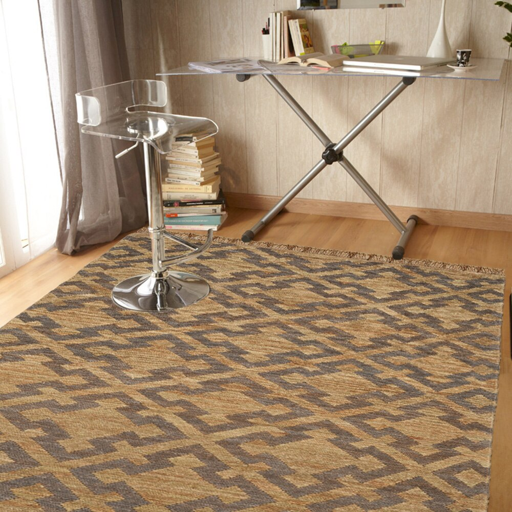Alfombra yute natural sumak ref 17254643 leroy merlin for Alfombras yute a medida