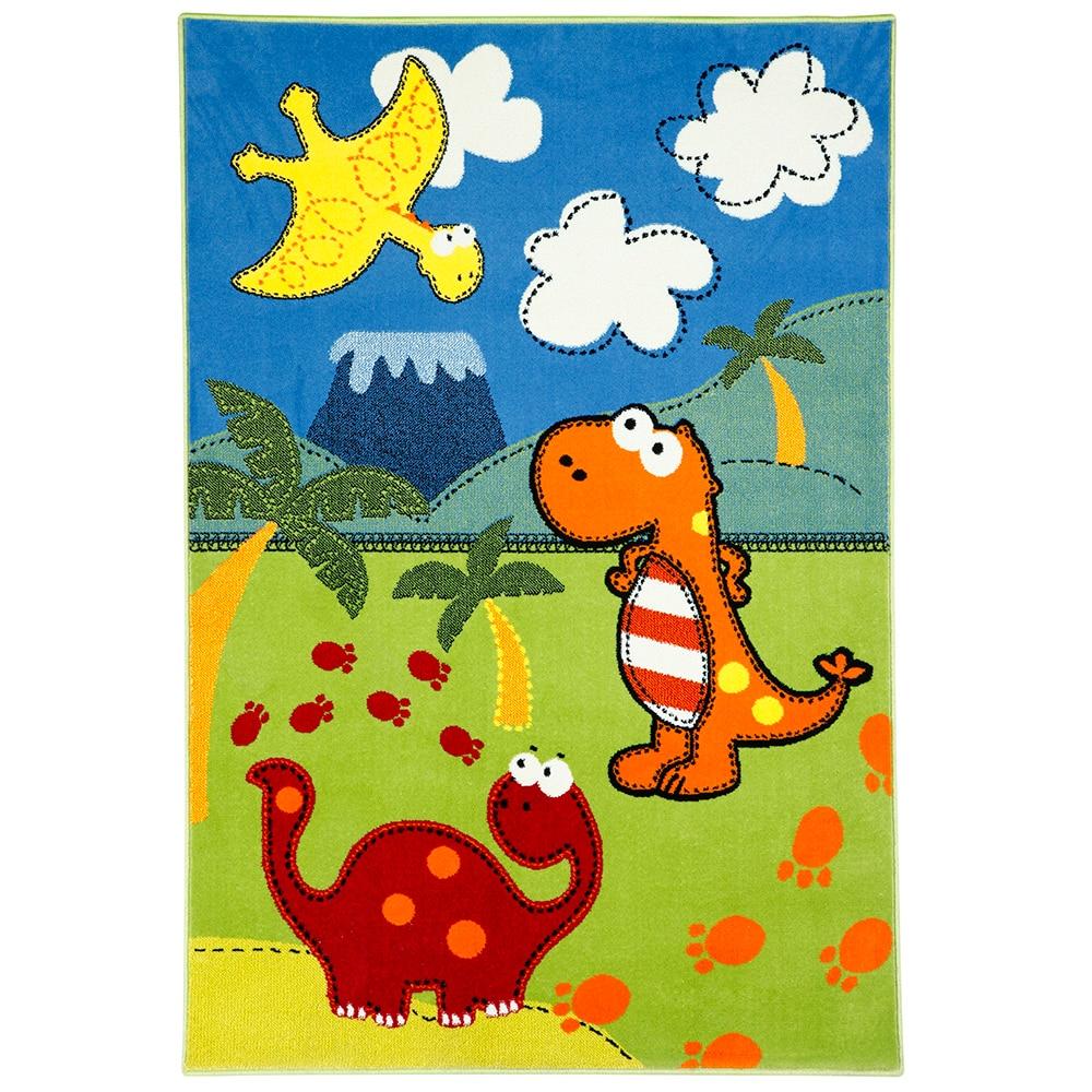 Alfombra Polipropileno Infantil Bambino Dinos Ref 16555616  ~ Alfombras Infantiles Leroy Merlin