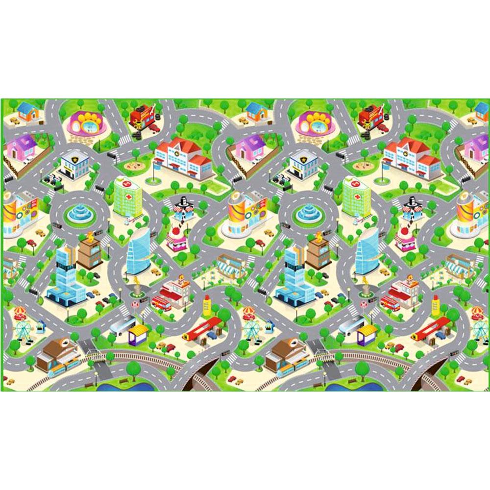 Alfombra pvc infantil lavable ref 16119873 leroy merlin - Alfombras lavables infantiles ...