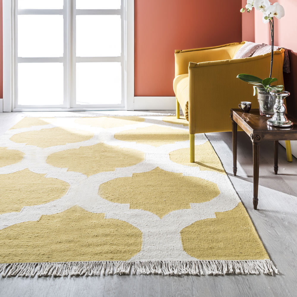 Alfombra acr lica dise o kilim tile ref 16552935 leroy for Kilim alfombras online