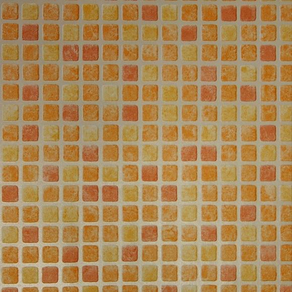 Baño Pintado De Amarillo:papel pintado gresite amarillo Ref 13516223 – Leroy Merlin