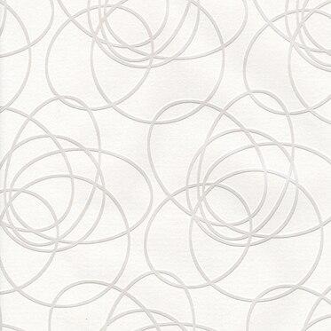 Papel pintado circle oval blanco ref 14002513 leroy merlin for Papel pintado coruna