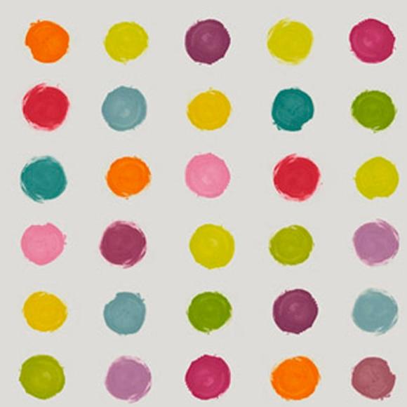 papel pintado lunares colores ref 15640114 leroy merlin