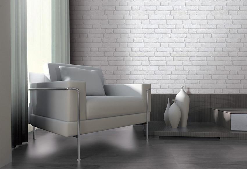 papel pintado imitacion ladrillo ref 15640170 leroy merlin. Black Bedroom Furniture Sets. Home Design Ideas