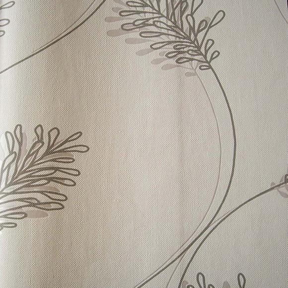 Papel pintado racimo villa luna blanco ref 16091446 - Leroy merlin papel pintado ...