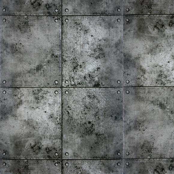 Papel pintado bloques hormigon ref 16091635 leroy merlin for Papel pintado coruna