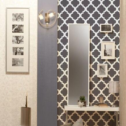 Papel pintado inspire arabesque ref 16795884 leroy merlin - Ikea pintura paredes ...
