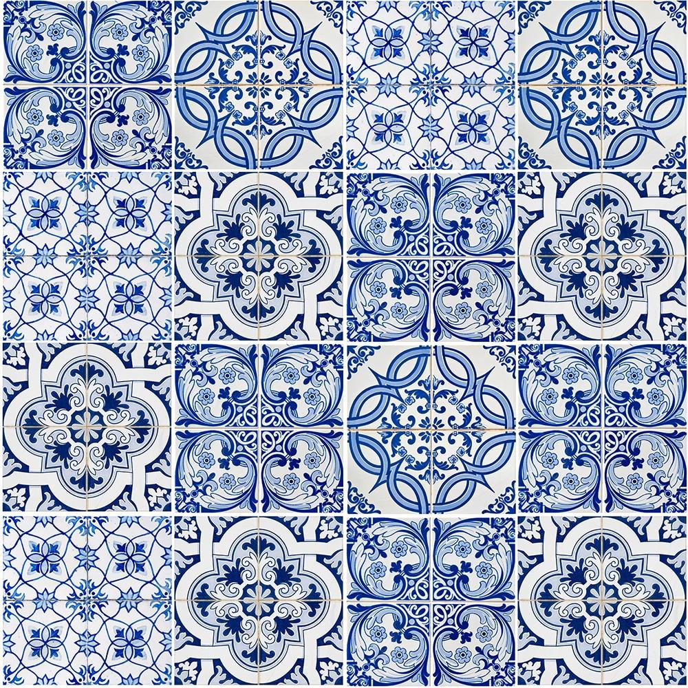 Papel pintado azulejos ref 17432065 leroy merlin - Papel para pared leroy merlin ...
