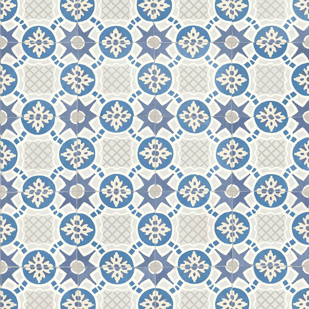 Papel pintado azulejos ii ref 19065410 leroy merlin for Papel pintado coruna