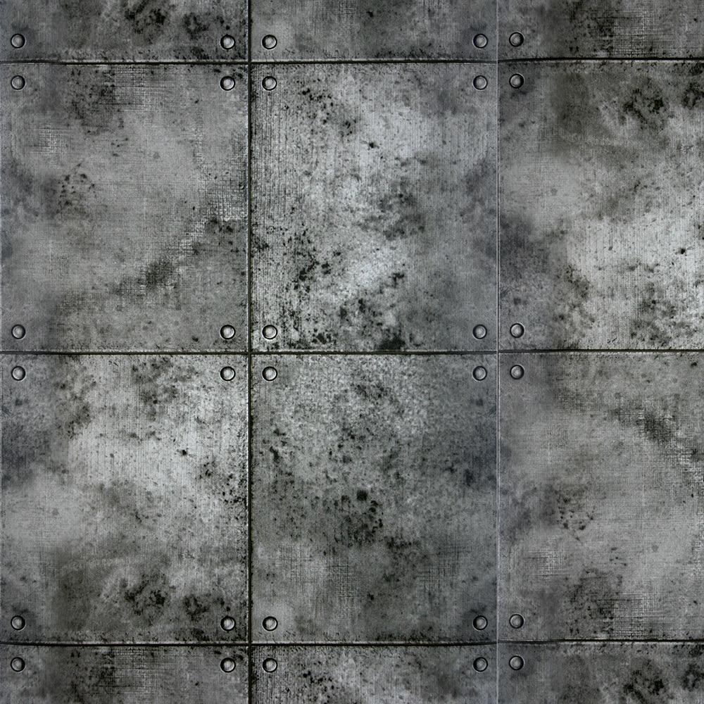 Papel pintado bloques hormigon ref 16091635 leroy merlin for Cordoli in cemento leroy merlin