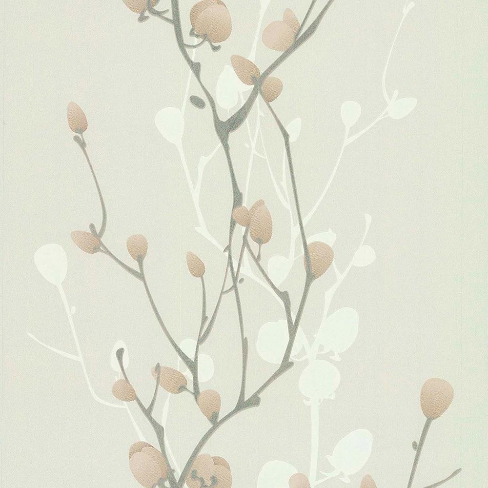 Papel pintado flores 5113 ref 16759596 leroy merlin - Papel de empapelar barato ...