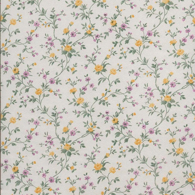 Papel pintado flores ii ref 14754621 leroy merlin for Papel leroy merlin