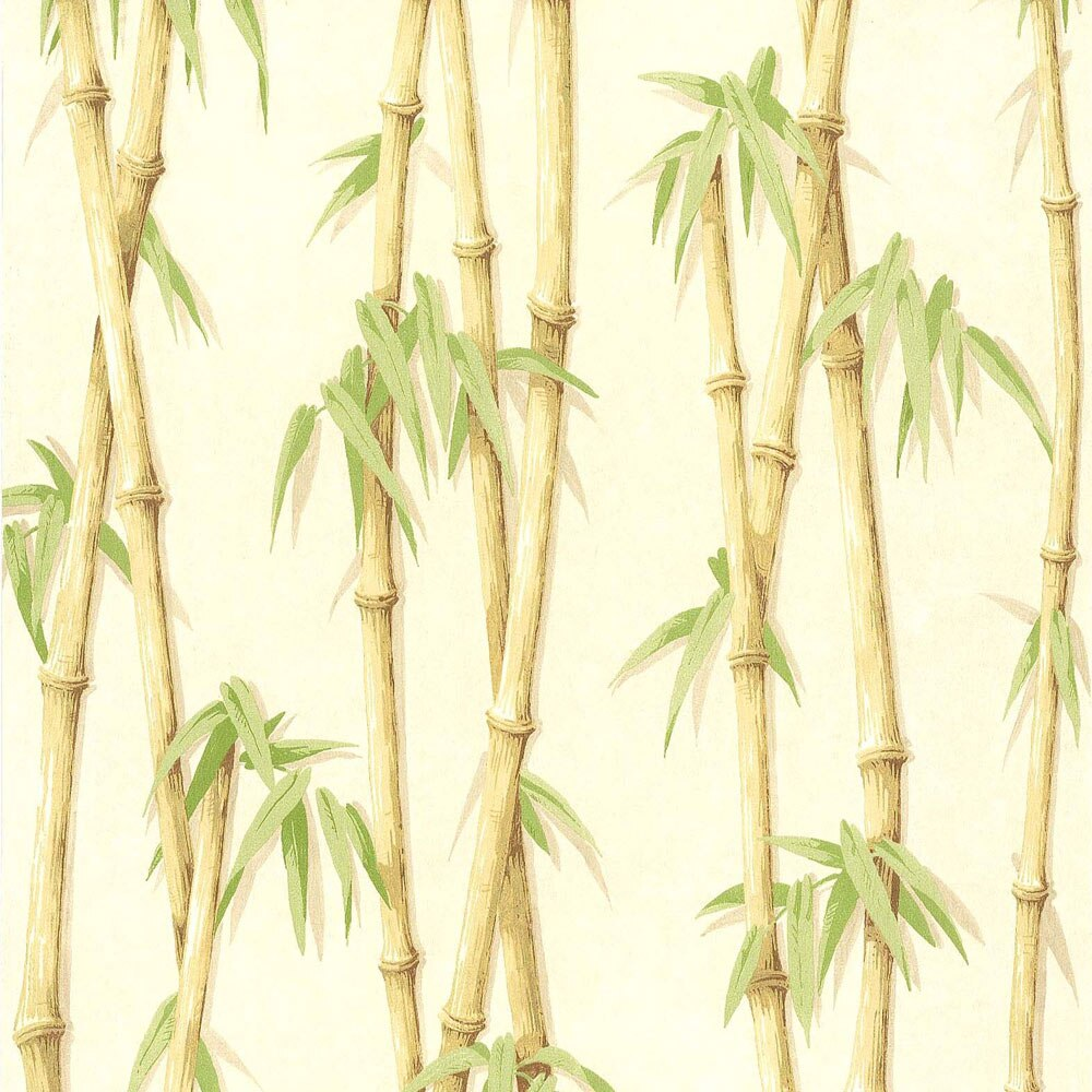 Papel pintado fresh kitchen bambu ref 18036536 leroy merlin - Papel pintado para salon leroy merlin ...