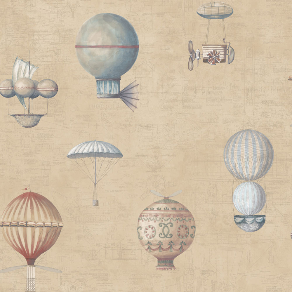 Papel pintado globos infantil ref 17853311 leroy merlin for Papel para empapelar infantil
