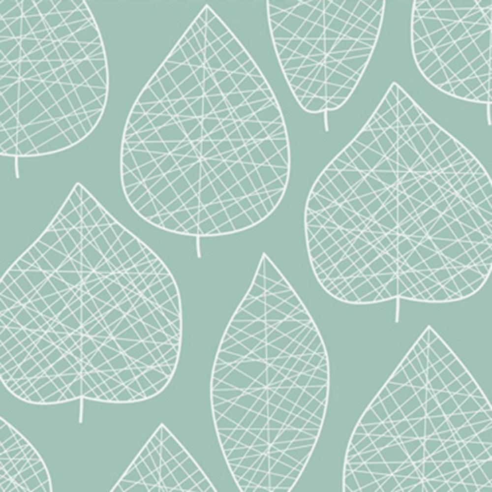 Papel pintado hojas verdes ref 17923822 leroy merlin - Papel para pared leroy merlin ...