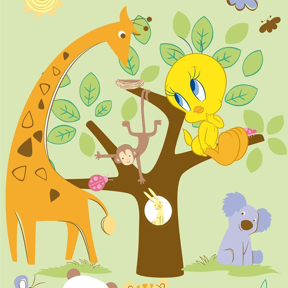 Papel pintado infantil panoramic wonderland 90425 ref - Leroy merlin papel pintado infantil ...