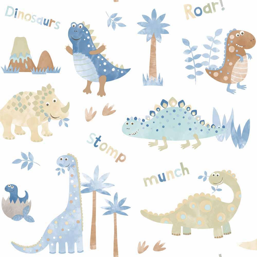 Papel pintado infantil tiny tots dinopolis ref 17280942 - Papel pintado mapamundi infantil ...