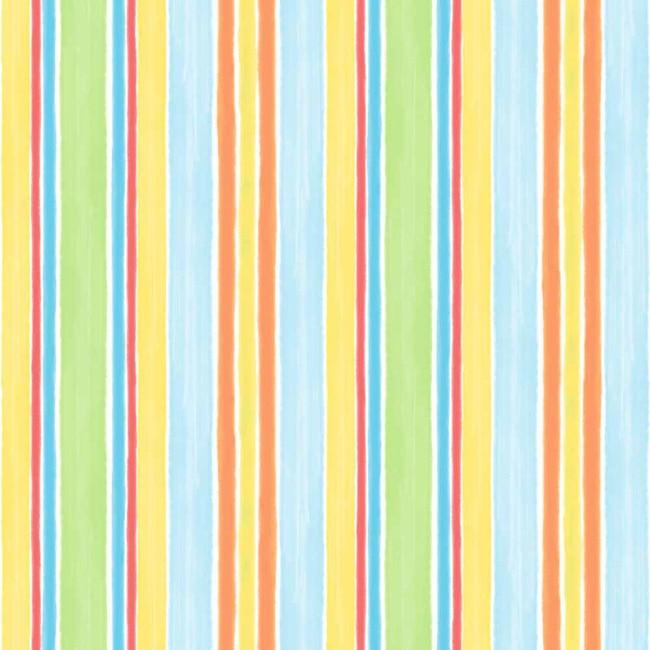 Papel pintado infantil tiny tots raya multicolor ref - Leroy merlin papel pintado infantil ...